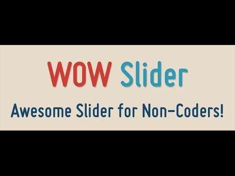 Using Wow Slider In Web Designing