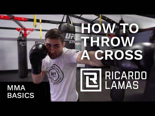 Ricardo Lamas How to Throw a Jab - MMA Basics Video 1