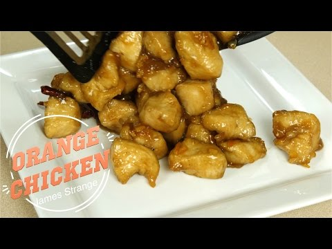 Better than Panda Orange Chicken Recipe / English Subtitiles