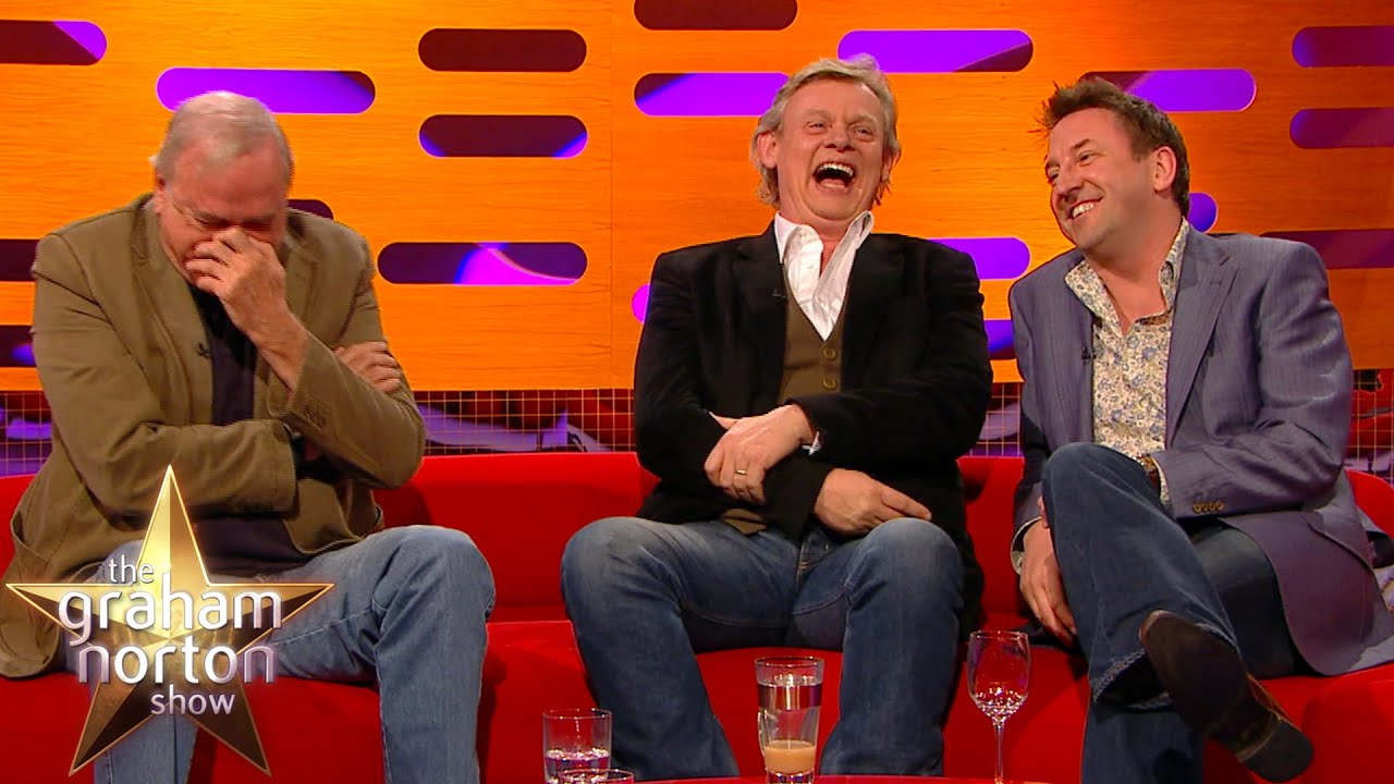 Download Lee Mack's Joke Leaves John Cleese In Near Tears | The Graham Norton Show