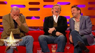 Lee Mack's Joke Leaves John Cleese In Near Tears | The Graham Norton Show