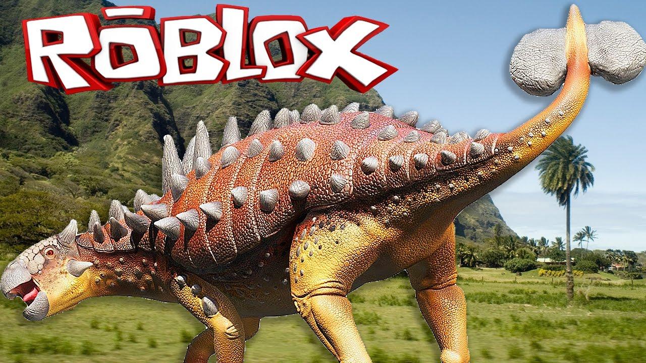 EUOPLOCEPHALUS | Dinosaur Simulator #7 - Roblox - YouTube