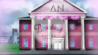 Legally Blonde Scenic Projections: Act 1, Scene 1