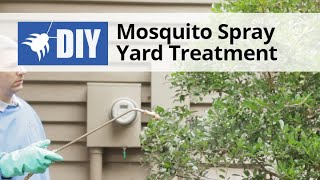 Mosquito Spray Yard Treatment