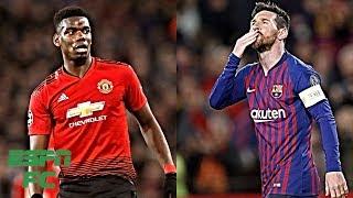 Espn fc's shaka hislop and alexis nunes break down the 2019 uefa champions league quarterfinal draw where manchester united take on barcelona, tottenham face...