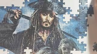 Пазлы пираты//Пазлы 260 элементов//Пазлы Пираты Карибского Моря//пазлы для детей