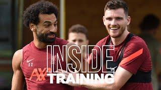 Inside Training: Counter-attack session as Robertson & Jota return