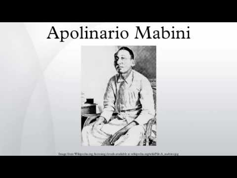 Apolinario Mabini