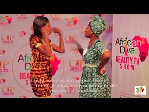 African Diva Reality Tv Show Season 2. Episode 2.Hosted By Chika Ike