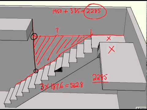 Flat Landing Part C   How To Calculate A Floor Opening For An L Shaped Stair .