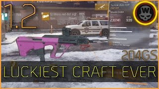 The Division - Luckiest 204 AUG Craft EVER!