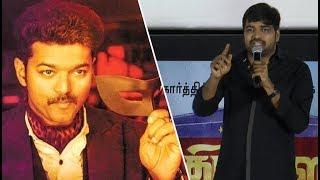 Sathish praise Vijays growth in Cinema Industry