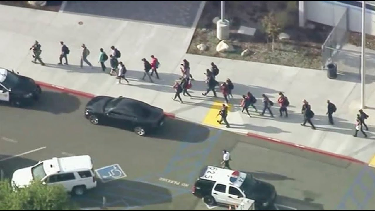 Shooting at California's Saugus High School, suspect in custody ...