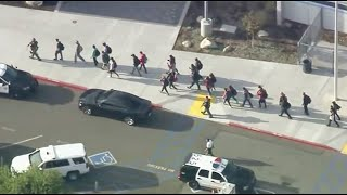 Watch: Authorities respond to shooting at Southern California high school