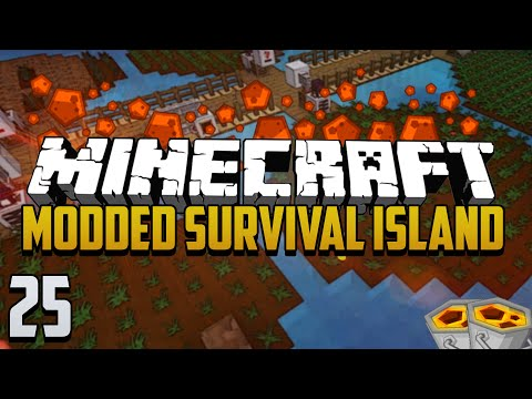 Minecraft: Modded Survival Island - Ep.25 - Growing Lava?!?