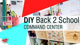 DIY Back to School Command Center | Tay from Millennial Moms