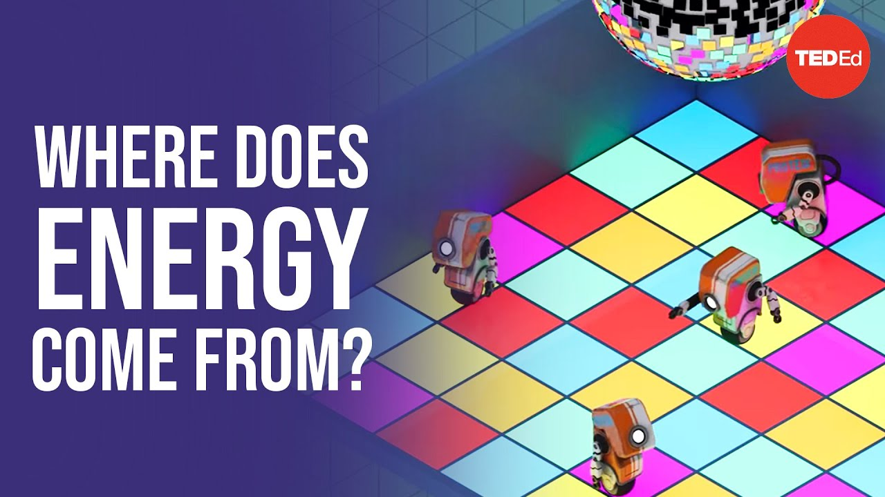 All of the energy in the universe is... - George Zaidan and | TED-Ed