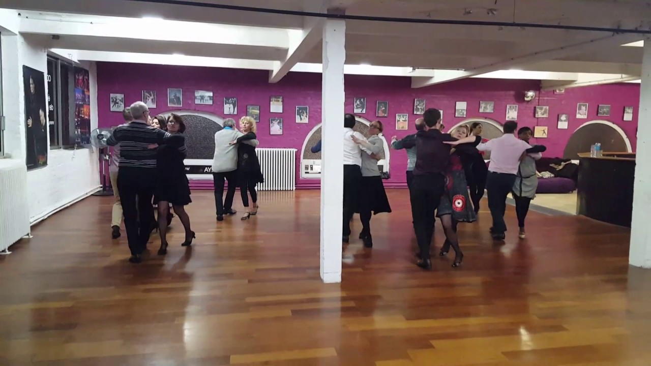 Atelier technique danse sportive tango youtube for Youtube danse de salon