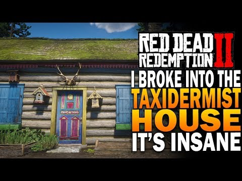 I Broke Into The Taxidermist House & Its INSANELY AWESOME! Red Dead Redemption 2 Secrets [RDR2] thumbnail