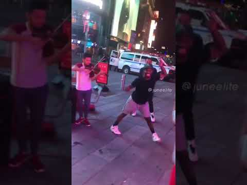 These Dancers Breaking It Down To The Stylings Of A Street
