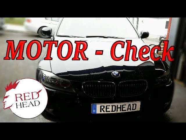 Motor Check-up beim BMW 325i