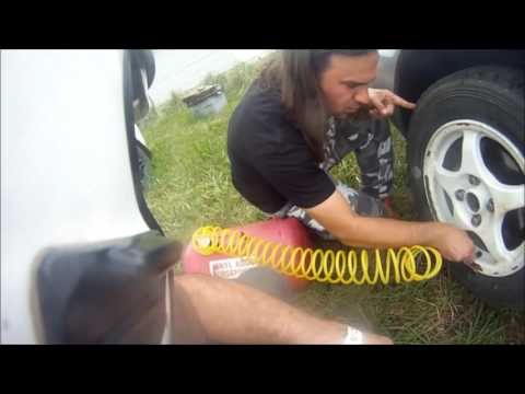How to repair a debeaded tire (54 PF, 2016 RallyCross National Championships)