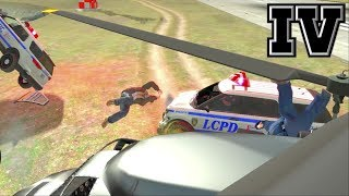 GTA IV & EFLC: Crashes, Bailouts, Ragdolls & Fails Compilation #33 [1080p]
