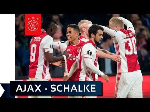 Het heenduel: Ajax overrompelt Schalke in ArenA
