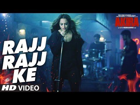 RAJJ RAJJ KE Lyric Video | Akira | Full song with lyrics | Akira | Sonakshi Sinha | Anurag Kashyap
