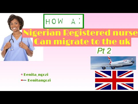 How A Nigerian Registered Nurse Can Migrate To The UK 2