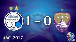 Video Gol Pertandingan Esteghlal vs Al-Ain