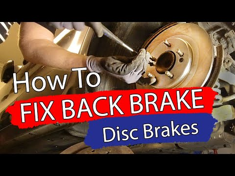 DIY / HOW TO FIX BACK BRAKE, Kia Cee`d Bildilla Magasin