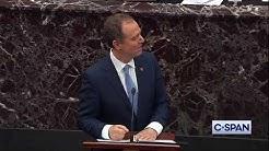 Rep. Adam Schiff (D-CA) Closing Arguments in Senate Impeachment Trial