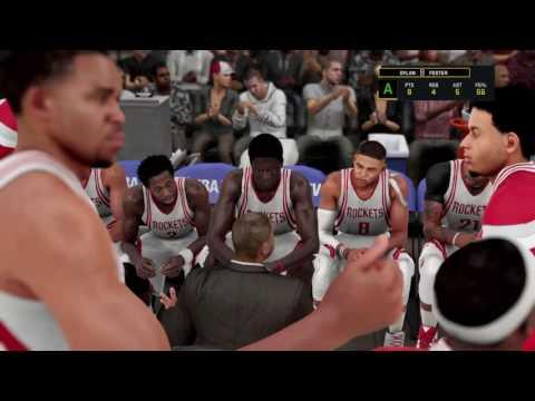 NBA 2K16 S3 - Debuting My First Jordan Signature Shoe + Dirk Nowitzki Retires