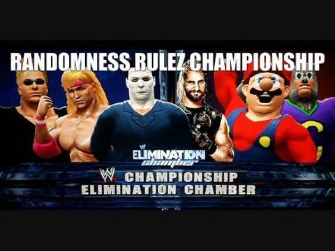Mario vs Rollins vs Bravo vs Myers vs Cheese vs Slamkovich (All-CAW Wrestling Elimination II Pt 4)