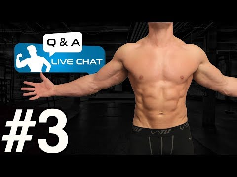 LIVE Q & A - Cutting | My Top Tips Without Having To CRASH DIET!