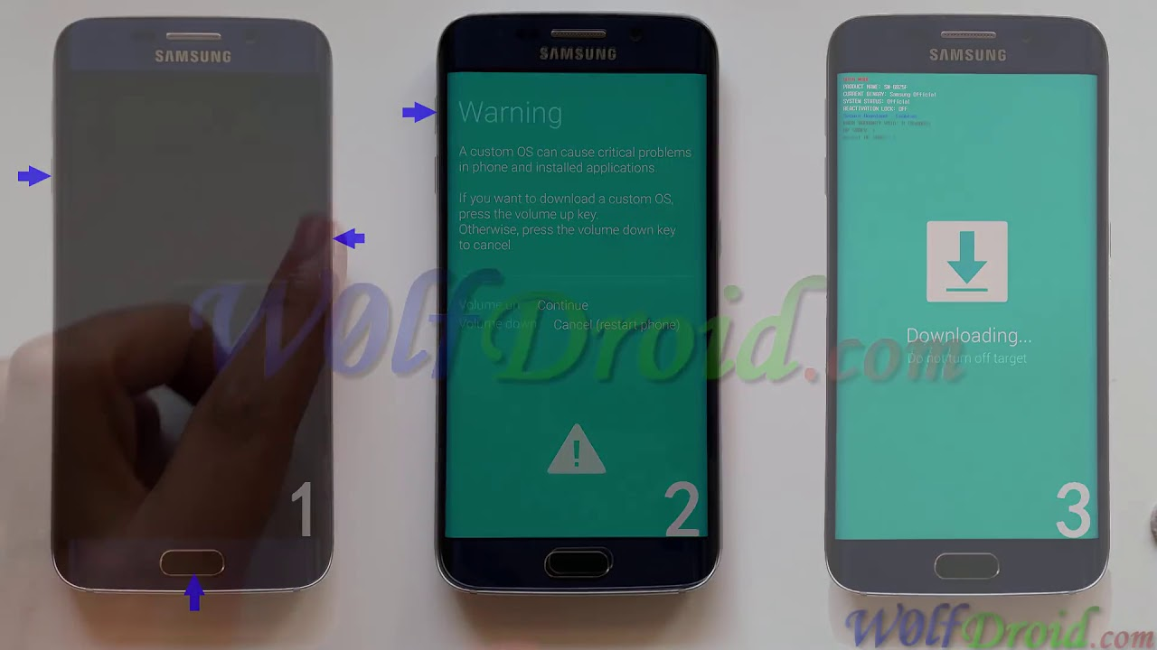 How to Flash Stock Firmware on Samsung Galaxy S6 & S6 Edge by Odin3