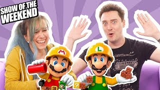 Show of the Weekend: Mario Maker 2 and Luke's Mario Moulding Challenge!