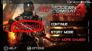 Modern Combat 4 Zero Hour 2D HD For Android