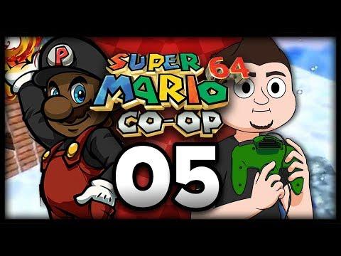 "Super Mario 64: 100% Online Co-Op w/ @PKSparkxx & JoshJepson! - Part 5   ""The Brothers Wa"""