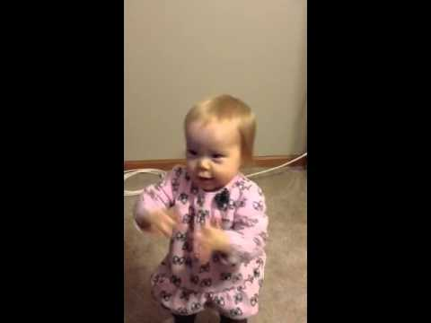 Mia dances to Clifford her favorite!