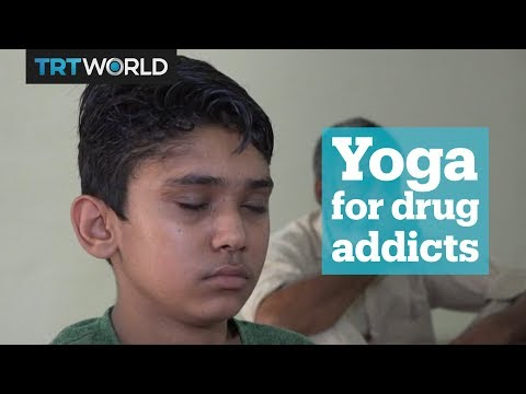 Indian rehab centre uses yoga to treat addicts
