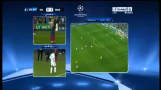 Ronaldo's reaction to Messi 2nd goal vs Real Madrid   YouTube2