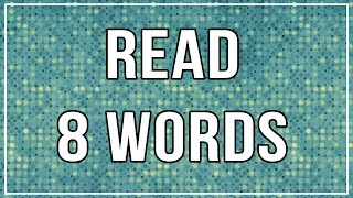 Are You Smart Enough to Read These Words?