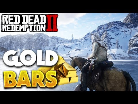 Red Dead Redemption 2 Gold Bar Locations & Ingot! RDR2 Money - Jack Hall Gang Treasure (No Glitch)