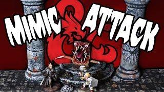 Make A D&d Mimic Monster (dm's Craft #115/part 1)
