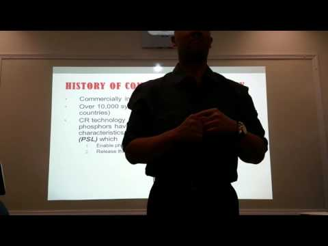 Professor Michael Frianeza's Lecture on Computed Radiography: Part 1