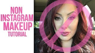 Non Instagram Makeup Tutorial!!  (plus bloopers)  | Makeup Geek