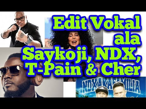 Teknik Edit Vokal Ala SAIKOJI, NDX, T-PAIN Dengan Cubase