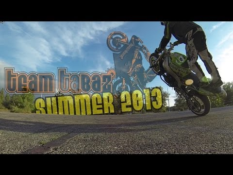 Team Tabaz Summer 2013 - Stunt, Drift, MX, Wake-board, Jet-ski, Enduro, Drift trike, BMX...